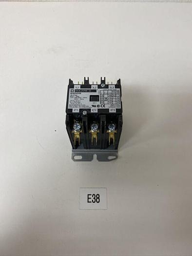 Used New Square D 8910DPA23V09, 25A, 3P, 208-240/220V Contactor, Warranty
