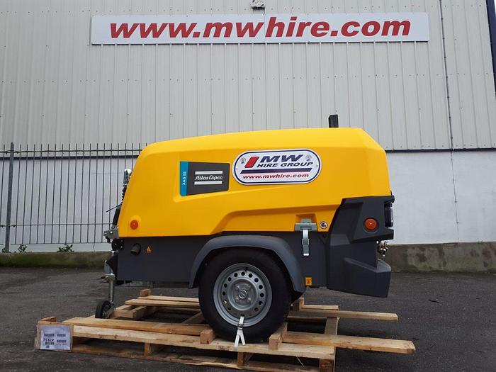Used Atlas Copco XAS 88