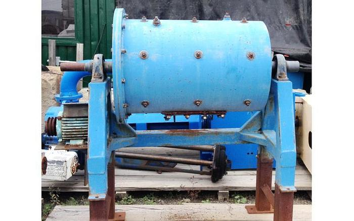 USED BALL MILL, BATCH, 2' DIAMETER X 3' LONG