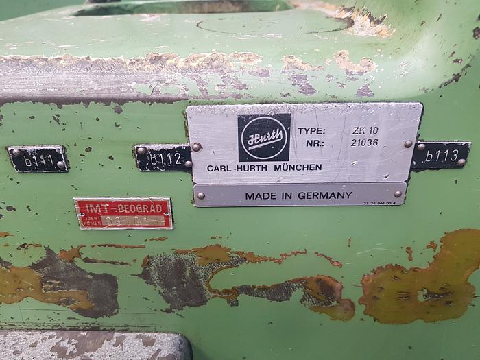 Hurth Zk10 Gear Chamfering Machine