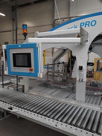 Used Jagenberg Japack Pro plus Jagfeed device year 2002 - available immediately