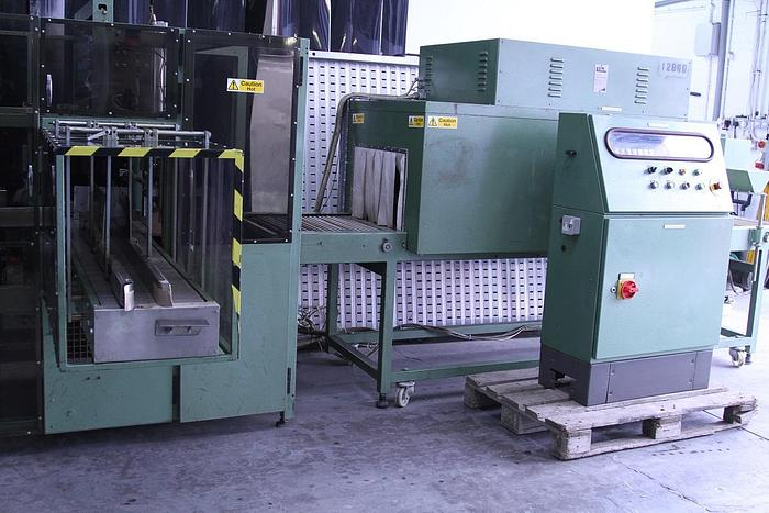 Used EDL Automatic Side Feed Sleeve Sealer & Heat Tunnel
