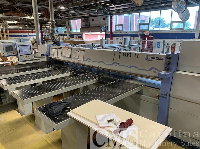 Used 2008 Holzma HPL 11 Rear Load Panel Saw