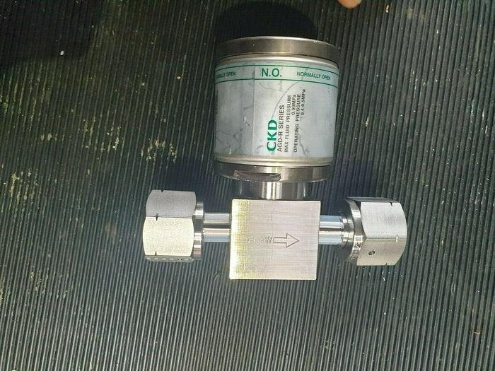 Used CKD Corporation  AGD22R-6R-X0006 PRESSURE VALVE (rbd2.1b5)