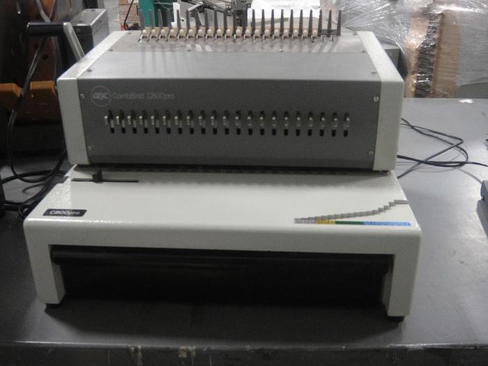Used GBC CombBind C800 Pro