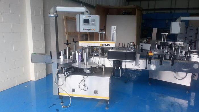 Used PAGO Front and Back Labeller