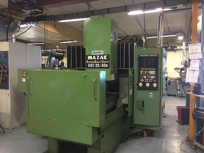 Used MV08F - Mazak  VQC 20/40 B