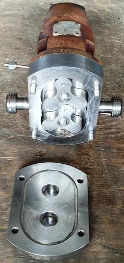 Used One complete tri-lobe rotary Alfa Laval SSP pump