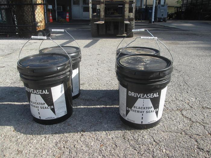 Used Driveaseal Driveway Black Top Sealer