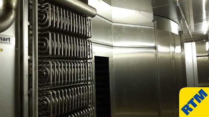 Used SPIRAL FREEZER