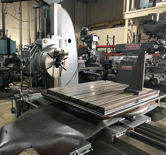 WMW Union BF80 Horizontal Boring Machine