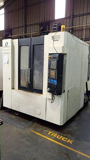 Used Used MAKINO S56 Vertical Machine Center