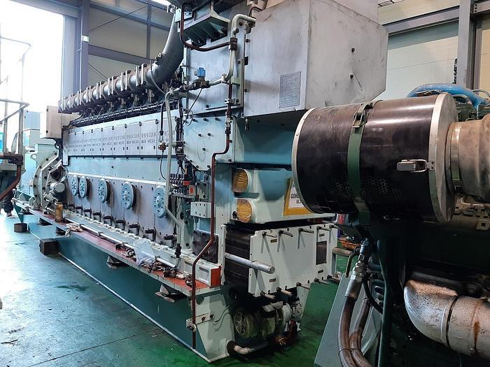 Used MAN Doosan 9L21/31 generator sets mfg 2013 excellent working condition