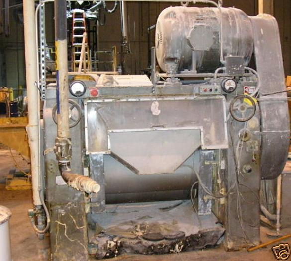 Mullins Mfg. Three Roll Mill, Offset,16 X 38