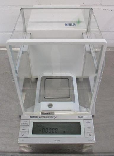 Used R 14709 D - Analytical Scale METTLER AT 261 Delta Range