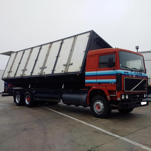 1981 VOLVO F10 320 10 tyres tipper