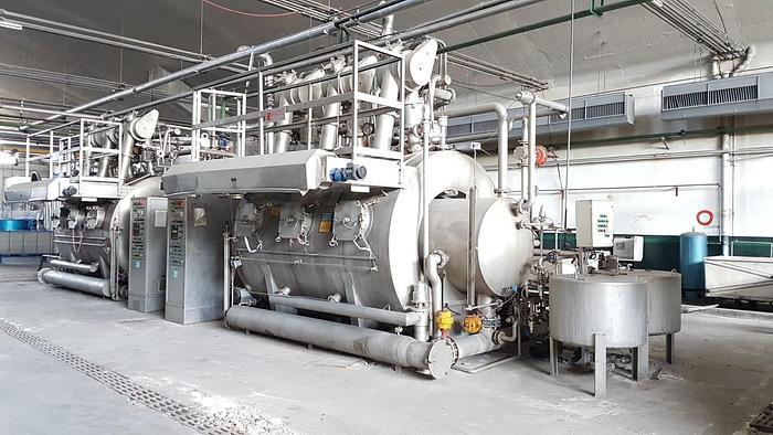 Used BRAZZOLI dyeing machine