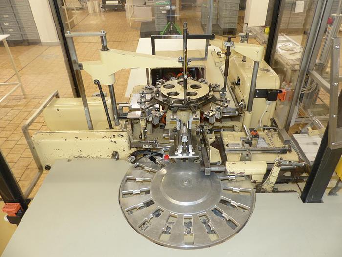 Gebraucht gebr. Stannioliermaschine RASCH Type RU. Baujahr 1967.