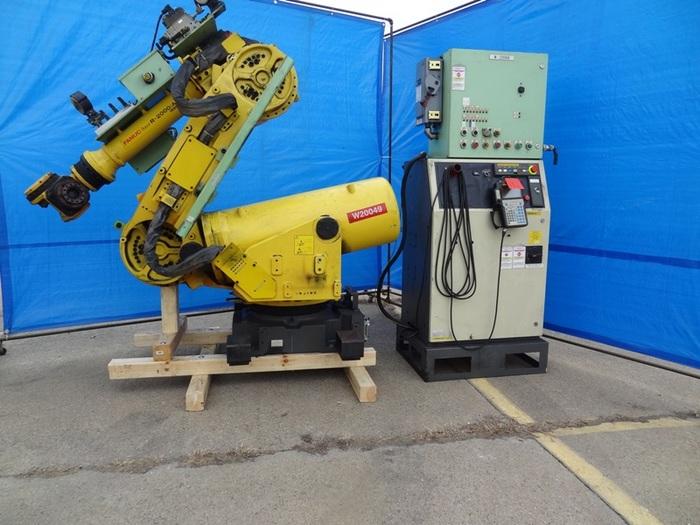 FANUC R2000iA/165R CNC 6 AXIS ROBOT W/RJ3IB CONTROL