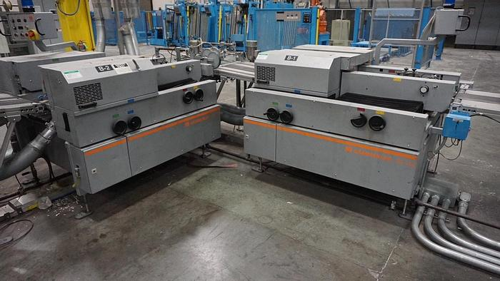 Used 2008 Gammerler RS134 (4) Knife Rotary Trimming system