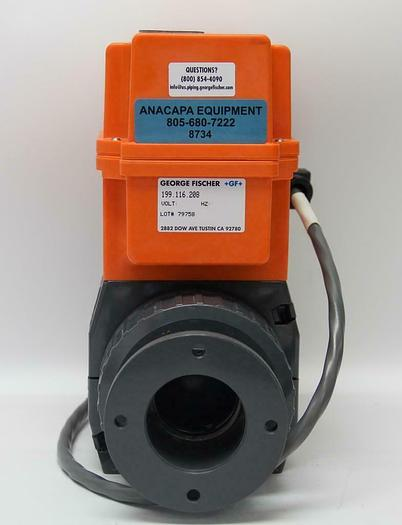 Used George Fischer +GF+ 198.150.433 199.116.208 Electric Actuator Typ EA 20 (8734)W