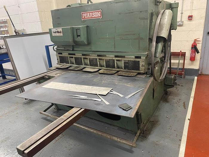 Used Pearson 1250 x 13mm Guillotine Shears