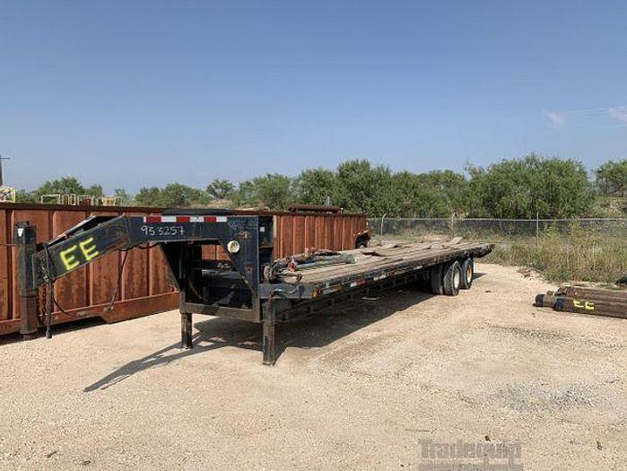 Used BIG TEX GOOSENECK TRAILER