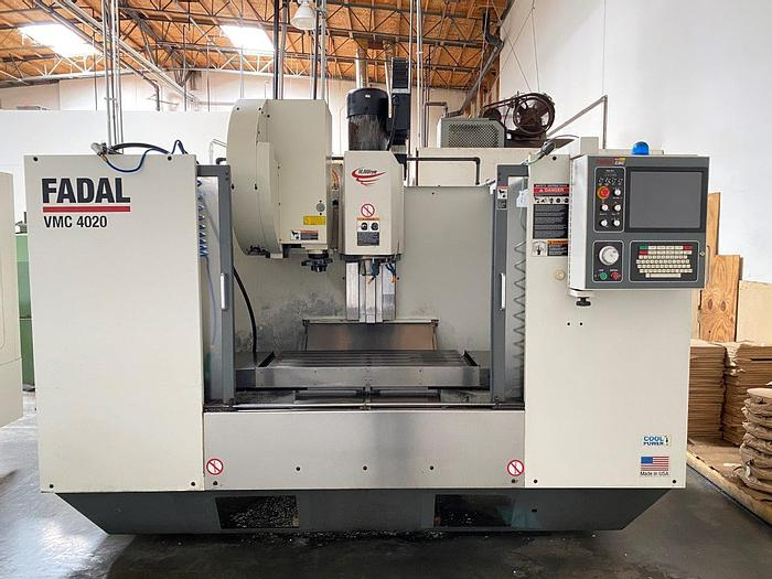 Used 2007 Fadal VMC-4020 CNC Vertical Machining Center