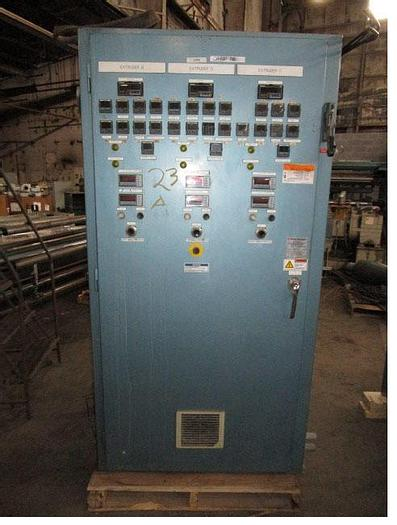 Used Control Panel for Davis Standard Extruder stock # 4756-033D