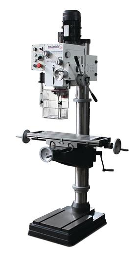 2020 Optimum OPTIdrill DH40CTP Universal Bohr + Fräsmaschine mit Kreuztisch