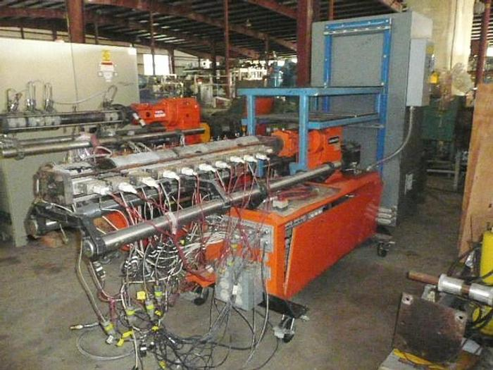 Used  Leistritz 34mm 42:1 co rotating twin screw extruder