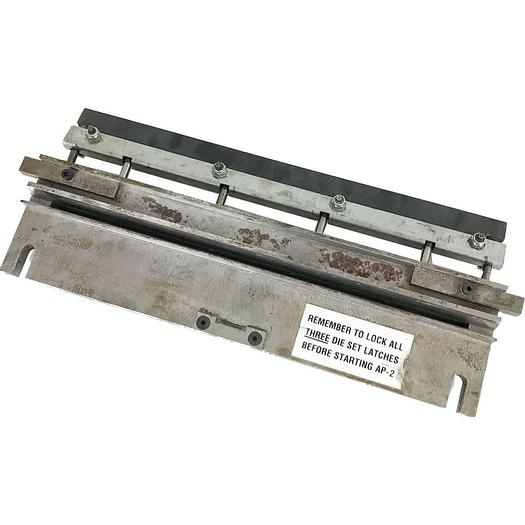 Used Pre-owned GBC AP2 2 and 4 Hole Punch Tool Die 6mm Diameter For Filing