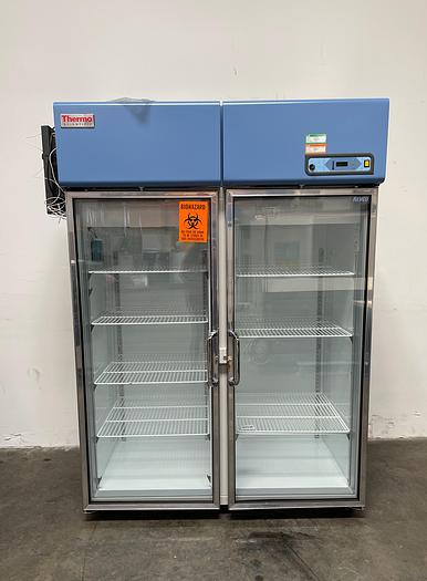 Used Thermo Scientific Revco RGL5004A Lab Refrigerator +4°C Glass Door 51.1 Cu Ft