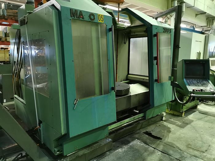 Gebraucht CNC Bearbeitungszentrum Universal MAHO MH 1200 S