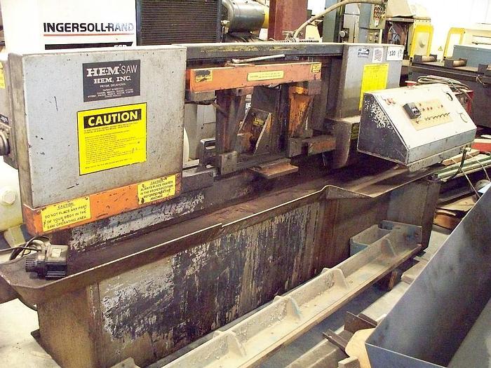 Used 1992 Hem Automatic Horizontal Bandsaw H105A