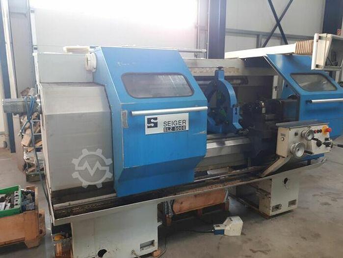 Gebraucht 2004 Seiger SLZ500E CNC Zyklendrehmaschine mit Heidenhain