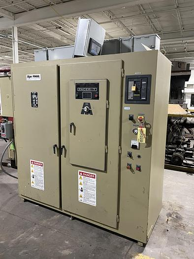 Used 2015 AJAX TOCCO 600 KW PACER-T IGBT HIGH FREQUENCY MELTING POWER SUPPLY