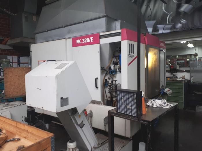 Gebraucht 1994 Stama MC320/E  Vertikales Bearbeitungszentrum mit Palettenwechsler