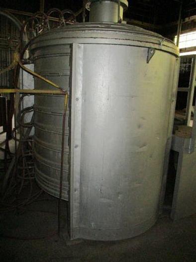 WALL COLMUNOY 4'X 4' VACUUM FURNACE/STOKES 7 1/2HP/ VACUUM / ROUGHING /DIFFUSION