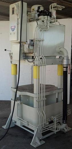 120 Ton Fisher / Precision Model AJF-7 4-Post Hyd. Press; Up Acting Type; Mfg. 2004; S/N 18181-8;