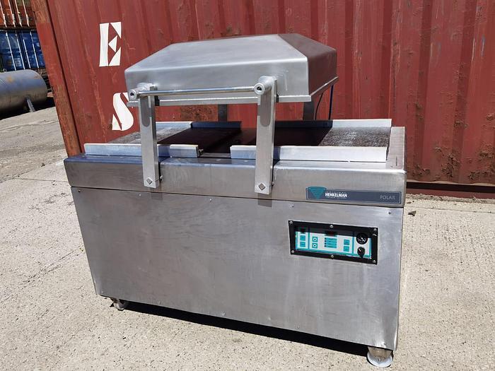 Used Henkelmann Polar double chamber vacuum packer