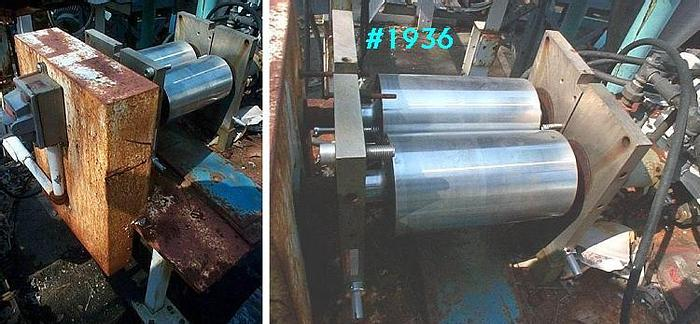 Used 5 IN. X 9 IN. DOUBLE DRUM DRYER – CHROME PLATED