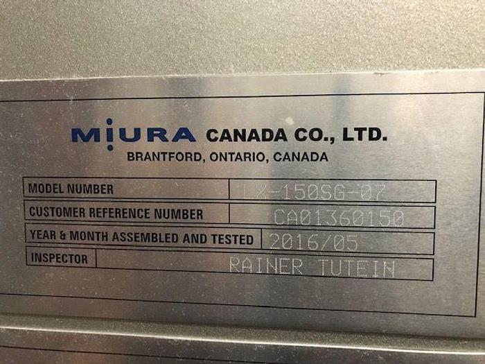 2016 MIURA 150HP STEAM BOILER PACKAGE