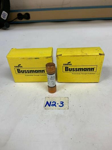 2 Boxes of 10 Cooper Bussmann NON-15 15 Amp Fuses One-Time Fuse - New