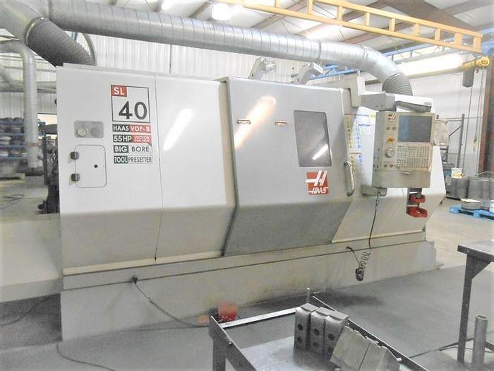 Used 2007 Haas SL-40 Big Bore Chucker