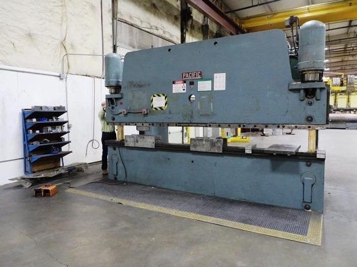 Used Pacific 200 Ton Hydraulic Press Brake