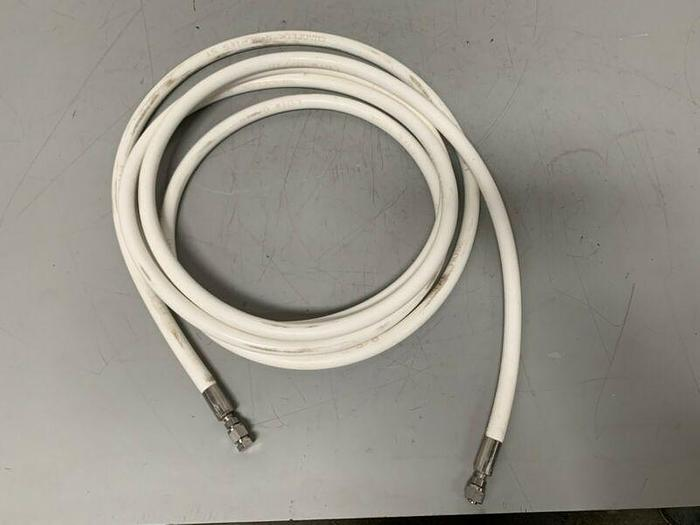 "Used Swagelok S Series ST 3/4"" x 239"" Flexible Sanitary Hose"