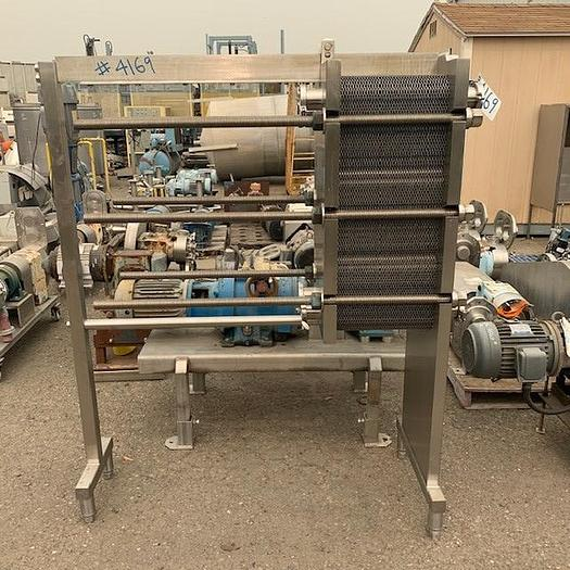 Used AGC Plate Cooler - Heat Exchanger Model PRO2-SH