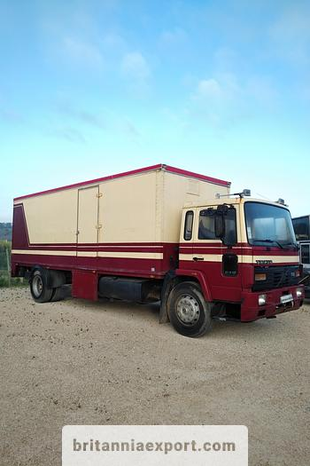 Used 1990 VOLVO FL617 17.5 ton box lorry