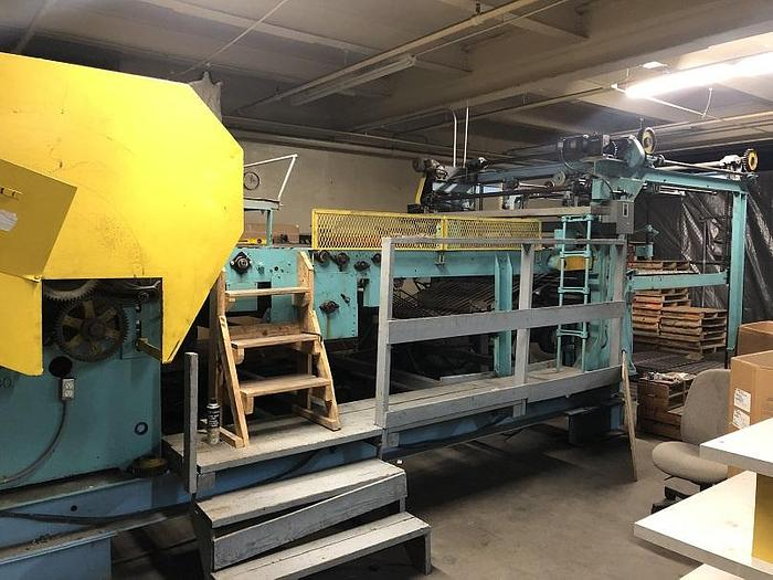 "Used 60"" WIDE HAMBLET SHEETER W/ 4 BACKSTANDS & DRIVE UPDATE"